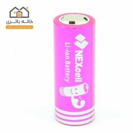 باتری لیتیوم آیون 6800 میلی آمپر 26650 نکسل NEXcell