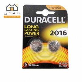 باتری سکه ای 2016 لیتیوم 2 عددی دوراسل(Duracell)