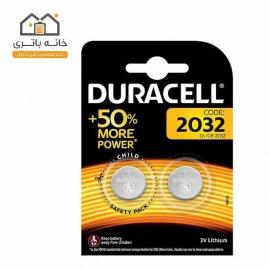 باتری سکه ای 2تایی لیتیوم دوراسل(Durasell) مدل 2032
