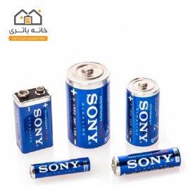 باتری متوسط آلکالاین سونی
