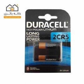 باتری 6 ولت لیتیوم دوراسل(duracell) مدل 2CR5