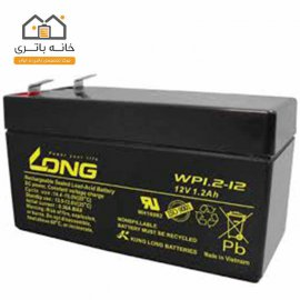 باتری سیلد اسید 12 ولت 1.3 آمپر لانگ long