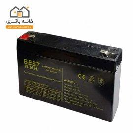 باتری 6 ولت 7 آمپر بست best