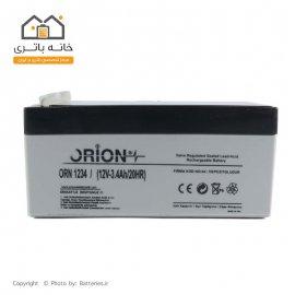 باتری خشک 12 ولت 3.4 آمپر orion