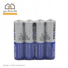 باتری قلمی معمولی شیرینگ 4 عددی دنامکس