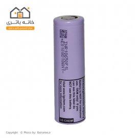 باتری لیتیوم آیون 18650 شارژی 3.7 ولت 3400 میلی آمپر ال جی - LG