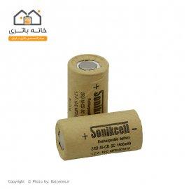 باتری شارژی SC ساب سی 1.2 ولت 1500 میلی آمپر sonikcell سونیک سل 10C