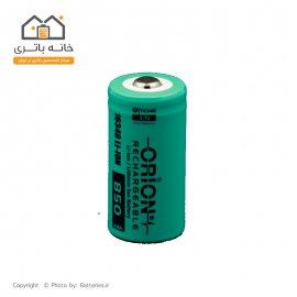 باتری لیتیوم آیون اوریون 16340 شارژی 3.7 ولت 850 میلی آمپر