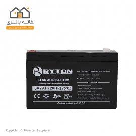 باتری 6 ولت 7 آمپر ریتون - Ryton