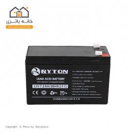 باتری 12 ولت 7.2 آمپر ریتون  - Ryton