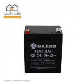 باتری سیلد اسید ریتون 12 ولت 4.5 آمپر