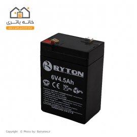 باتری ریتون 6 ولت 4.5 آمپر