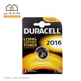 باتری سکه ای 2016 لیتیوم تکی دوراسل(Duracell)