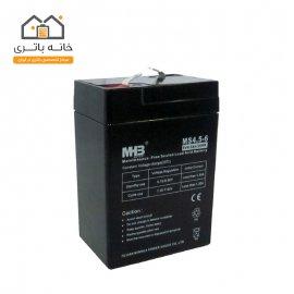 باتری 6 ولت 4.5 آمپر ام اچ بی - MHB