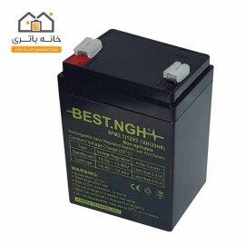باتری سیلد اسید 12 ولت 2.7 آمپر بست BEST