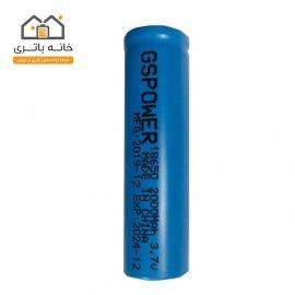 باتری 18650 لیتیوم آیون 3.7 ولت 2000 میلی آمپر 2C جی اس پاور - GS Power
